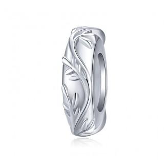 """Stříbrný korálek na náramek Pandora """"Výhonky"""". Ag 925/1000"""