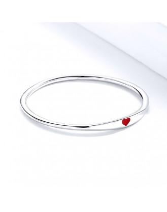 """Stříbrný prsten """"Srdíčko"""". Ag 925/1000"""