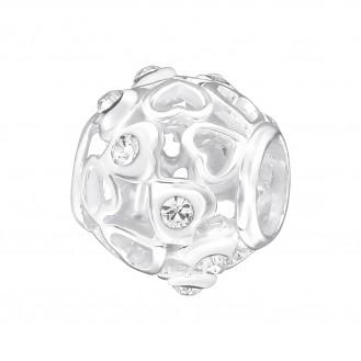 """Stříbrný korálek na náramek Pandora """"Jemný"""". Ag 925/1000"""
