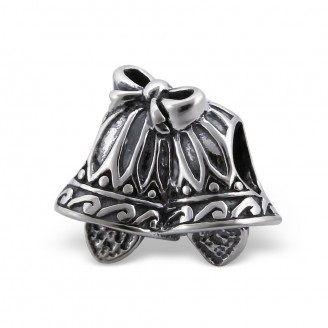 """Stříbrný korálek na náramek Pandora """"Zvonečky"""". Ag 925/1000"""