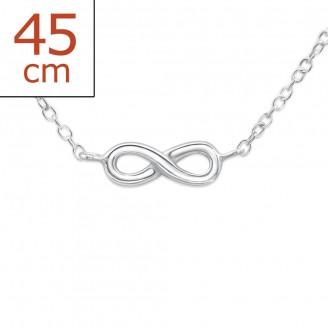 """Stříbrný náhrdelník """"Nekonečno"""". Ag 925/1000"""