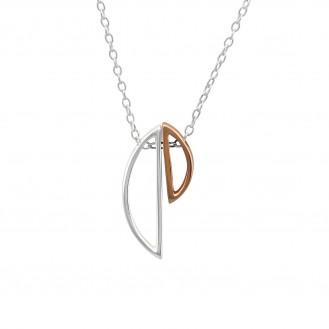 "Stříbrný náhrdelník ""Insolita"". Ag 925/1000"