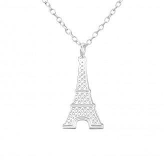 """Stříbrný náhrdelník """"Kouzlo Paříže"""". Ag 925/1000"""