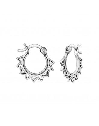 """Stříbrné kruhové náušnice """"Ericius"""". Ag 925/1000"""