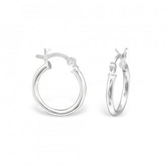 """Stříbrné náušnice kruhy """"Bellus"""". Ag 925/1000"""