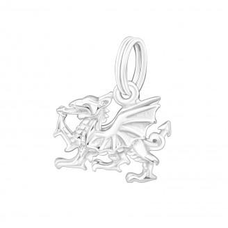 """Stříbrný přívěsek na náramek """"Čínský drak"""". Ag 925/1000"""