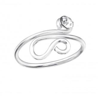 """Stříbrný prsten na nohu """"Convexa"""". Ag 925/1000"""