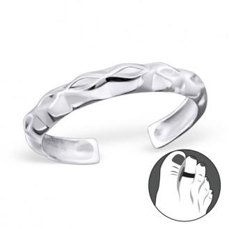 """Stříbrný prsten na nohu """"Nervis"""". Ag 925/1000"""