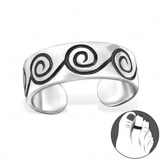 """Stříbrný prsten na nohu """"Cincinnis"""". Ag 925/1000"""