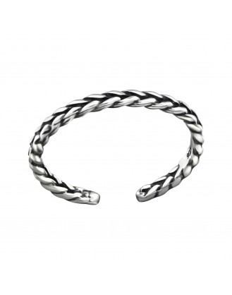"Stříbrný prsten na nohu ""Jemný"". ox Ag 925/1000"