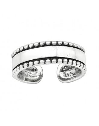 "Stříbrný prsten na nohu ""Lisa"". Ag 925/1000"