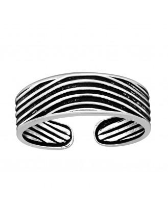 "Stříbrný prstýnek na nohu ""Wanui"". Ag 925/1000"