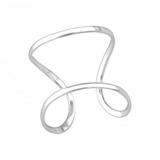"Stříbrný prsten ""Minimalistický"". Ag 925/1000"
