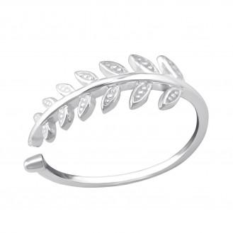 """Stříbrný prsten """"Planta"""". Ag 925/1000"""