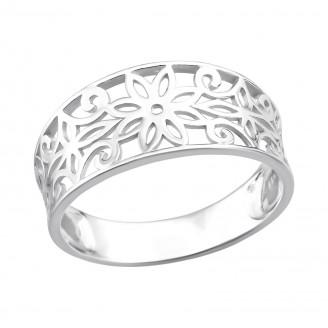"Stříbrný prsten ""Mirabile"". Ag 925/1000"