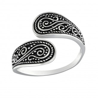 "Stříbrný prsten ""Separatio"". 2x17 Ag 925/1000"