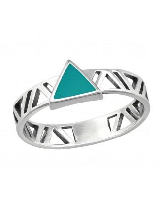 """Stříbrný prsten """"Excogitando"""". Ag 925/1000"""