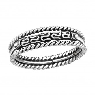 "Stříbrný prsten ""Bali"". Ag 925/1000"