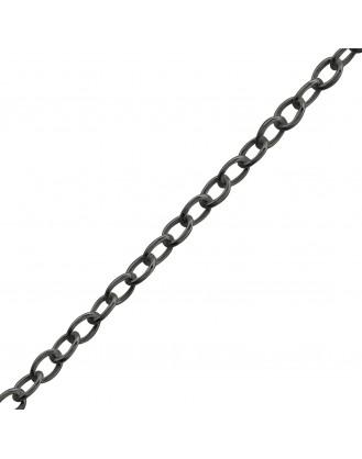 """Stříbrný řetízek """"Octave"""". 45x1,0. ruth. Ag 925/1000"""
