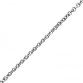 "Stříbrný řetízek ""Custodi"" 45x1,2 rh. Ag 925/1000"