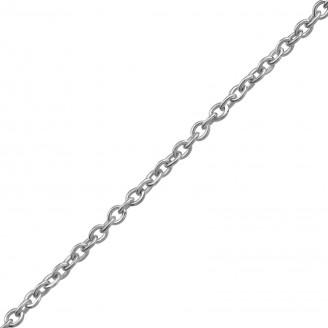 "Stříbrný řetízek ""Custodi"" 45x1,3 rh. Ag 925/1000"