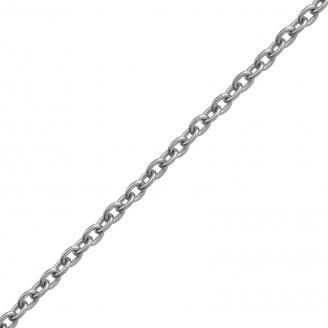 "Stříbrný řetízek ""Custodi"" 45x1,6 rh. Ag 925/1000"
