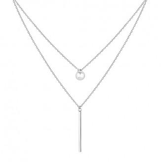 "Stříbrný náhrdelník ""Carus"". Ag 925/1000"