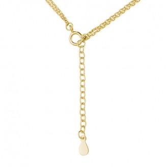 """Stříbrný pozlacený náhrdelník """"Carus"""". Ag 925/1000"""