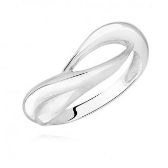 """Stříbrný prsten """"Solitér"""". Ag 925/1000"""
