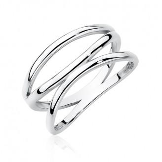 "Stříbrný prsten ""Mollis"". Ag 925/1000"