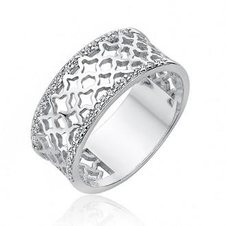 """Stříbrný prsten se zirkony """"Oriens"""". Ag 925/1000"""