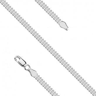 """Stříbrný náhrdelník řetízkový """"Core"""". 45x4. Ag 925/1000"""