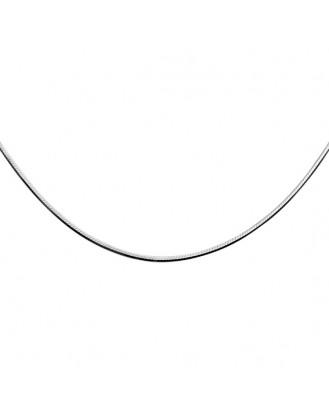"""Stříbrný řetízek rhodiovaný 60 centimetrů """"Implere"""". Ag 925/1000"""