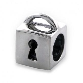 "Stříbrný přívěsek na náramek Pandora ""Box"". Ag 925/1000"