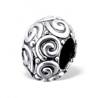 "Stříbrný korálek na náramek Pandora ""Melissa"". Ag 925/1000"