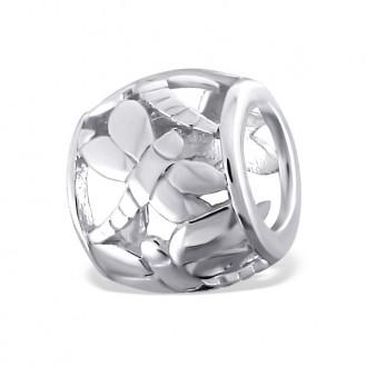 "Stříbrný korálek na Pandora náramek ""Vážka"". Ag 925/1000"