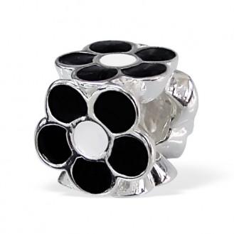 """Stříbrný korálek na náramek Pandora """"Tritaque"""".bk. Ag 925/1000"""