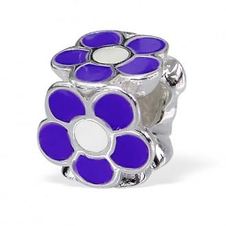 "Stříbrný korálek na náramek Pandora ""Tritaque"".pur. Ag 925/1000"