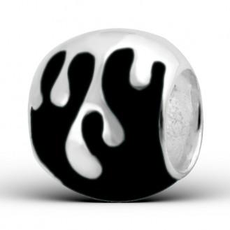 "Stříbrný korálek na náramek Pandora ""Ornela"". Ag 925/1000"