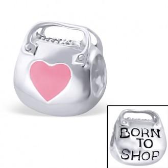 """Stříbrný přívěsek na Pandora náramek """"Nákupní horečka"""" r. Ag 925/1000"""