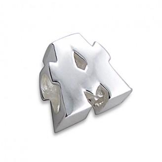 """Stříbrný přívěsek na náramek Pandora """"Písmeno A"""". Ag 925/1000"""