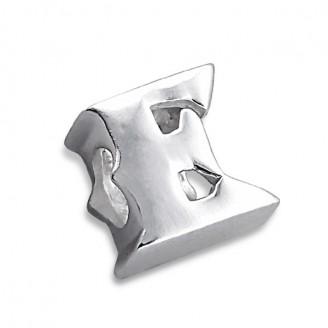 """Stříbrný přívěsek na náramek Pandora """"Písmeno E"""". Ag 925/1000"""