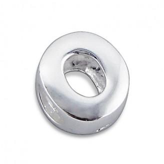 """Stříbrný přívěsek na náramek Pandora """"Písmeno O"""". Ag 925/1000"""