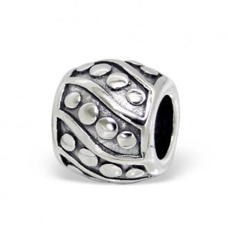 """Stříbrný korálek na náramek Pandora, """"Potestas"""". Ag 925/1000"""