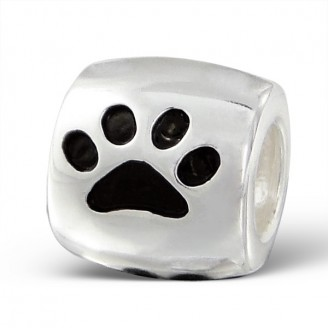 "Stříbrný korálek na Pandora náramek ""Stopy zvířat"" bl. Ag 925/1000"