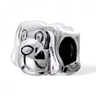 """Korálek stříbrný na náramek Pandora """"Pejsek"""". Ag 925/1000"""