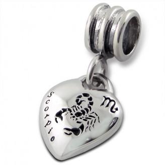 """Stříbrný přívěsek na náramek Pandora """"Štír"""". Ag 925/1000"""