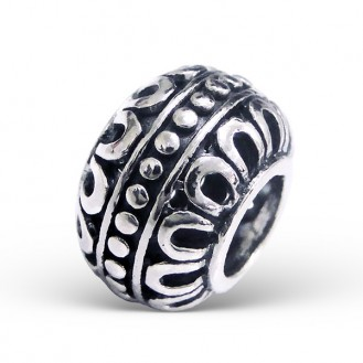 """Korálek stříbrný na náramek Pandora """"Exemplaris"""". Ag 925/1000"""