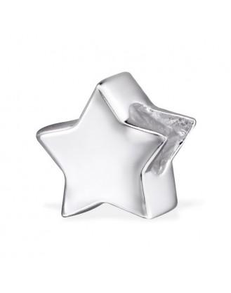 """Stříbrný korálek na náramek Pandora """"Hvězda"""". Ag 925/1000"""