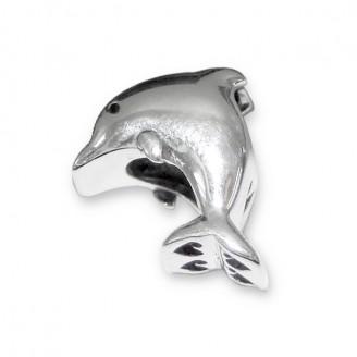 """Korálek stříbrný na náramek Pandora """"Delfín"""". Ag 925/1000"""